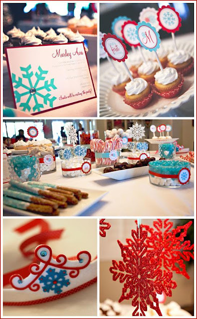 Winter Birthday Party Ideas, Autumn Winter Birthday Party
