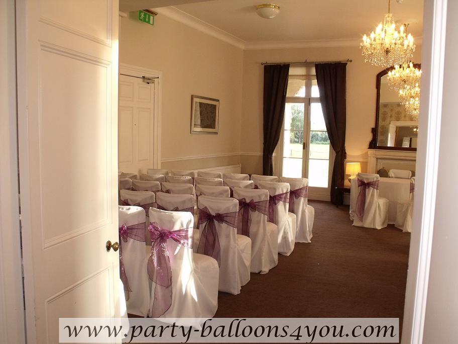 Party Balloons 4 You Wedding Decorations At Chewton Place Keynsham