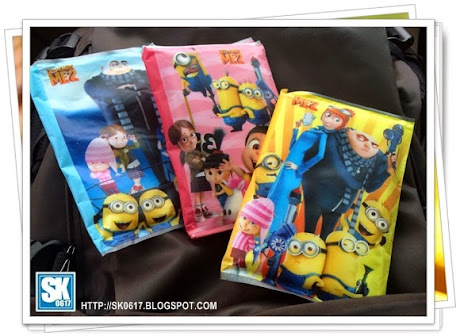 Minions Tissue Papers