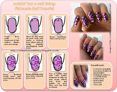 fishscale manicure tutorial
