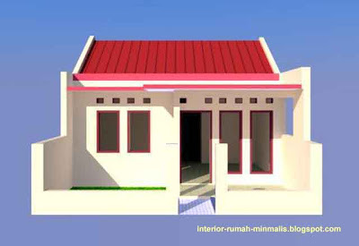Desain Rumah Minimalis KPR BTN Type 21/60 03
