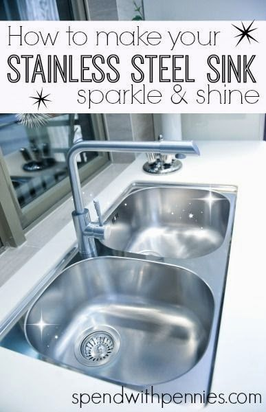 How to Make your Stainless Steel Sink Sparkle and Shine