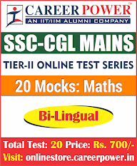 SSC CGL TIER II Mathematics Mocks