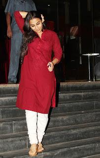 Vidya Balan At Ghanchakkar Movie Special Screening