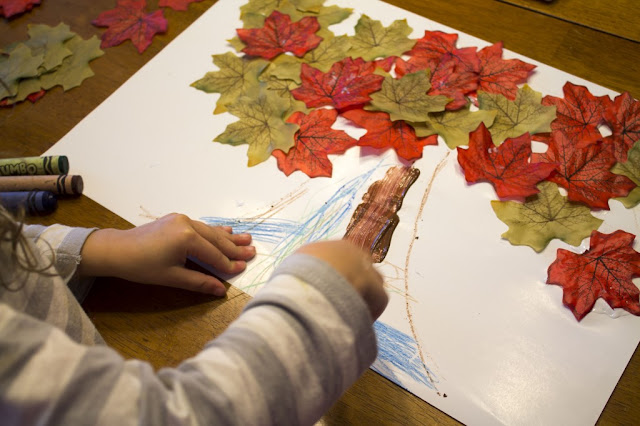 easy and simple leaf craft for kids