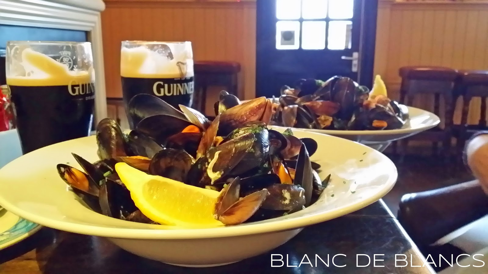 Guinness & mussles - www.blancdeblancs.fi