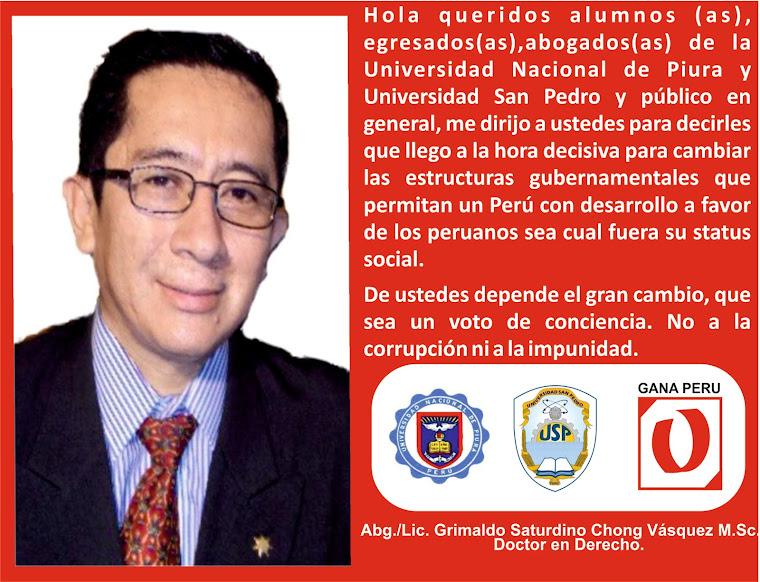 El Perú hoy necesita de Ti