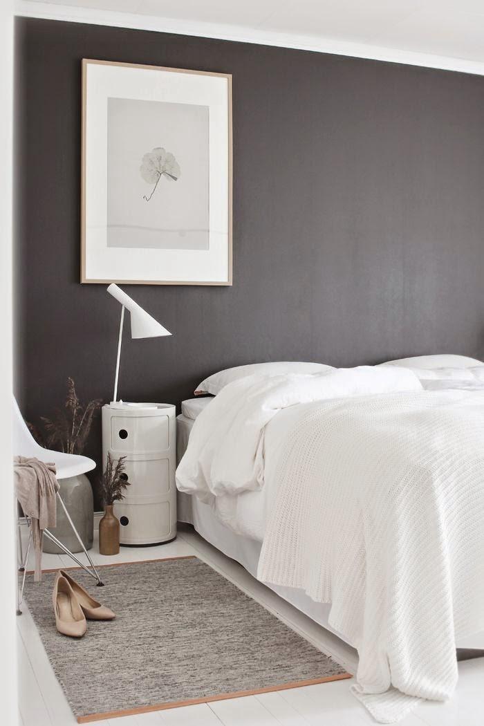 cheap chambre gris fonc et blanc la fabrique dco peindre chambre en noir with chambre gris noir et blanc - Peindre Une Chambre En Gris Et Blanc