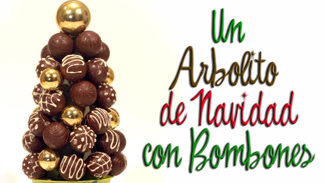 arbolito de navidad con bombones