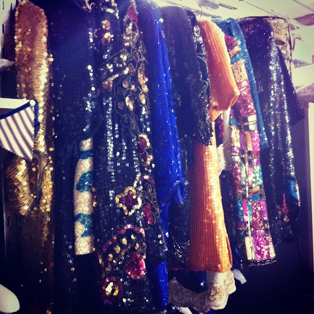 sequinned fashion