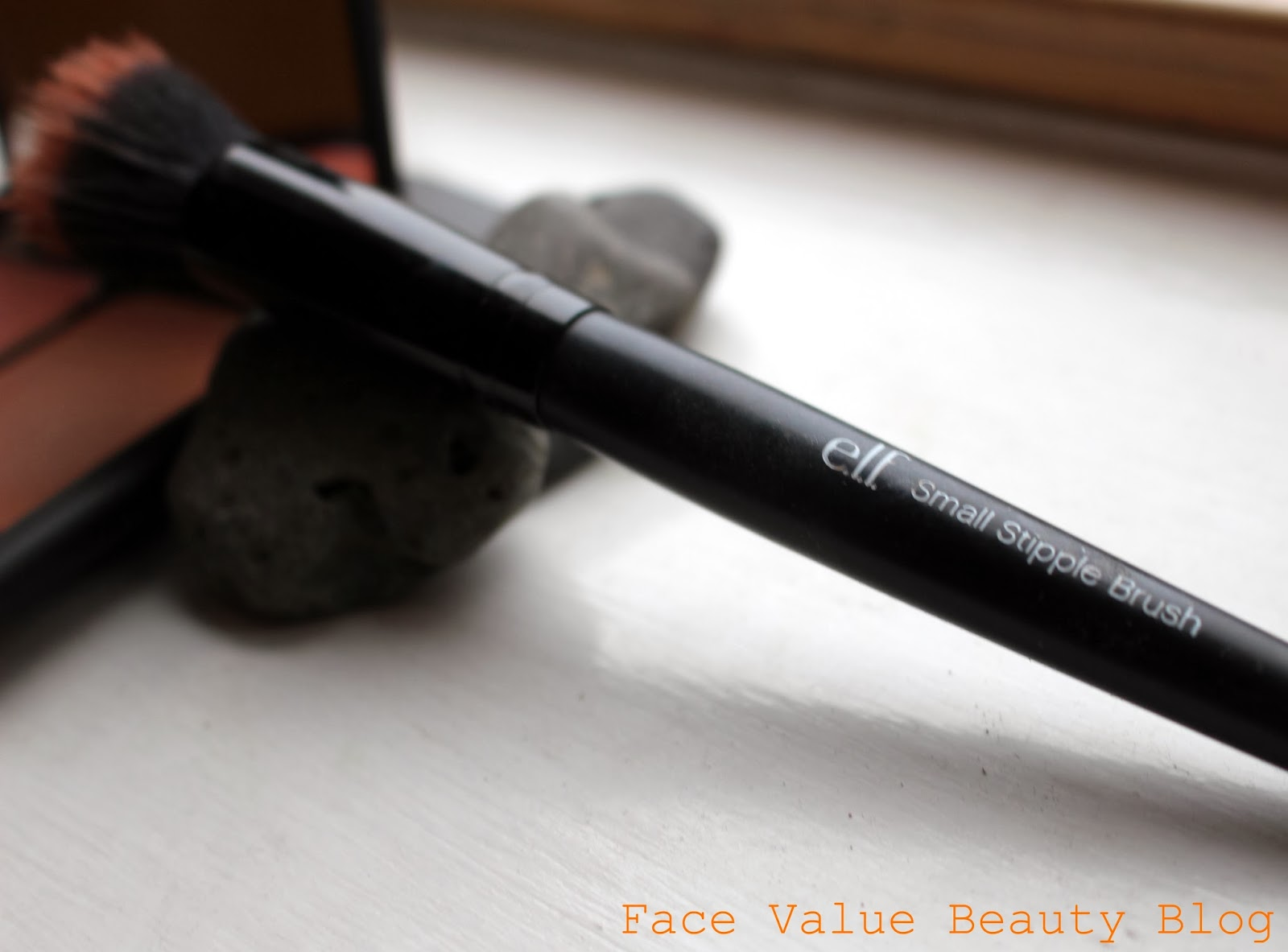elf cosmetics stipple brush cream blush bronzer beauty blog review