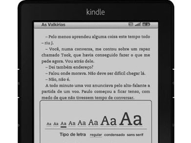Kindle começa a ser vendido! (Kindle X Kobo)