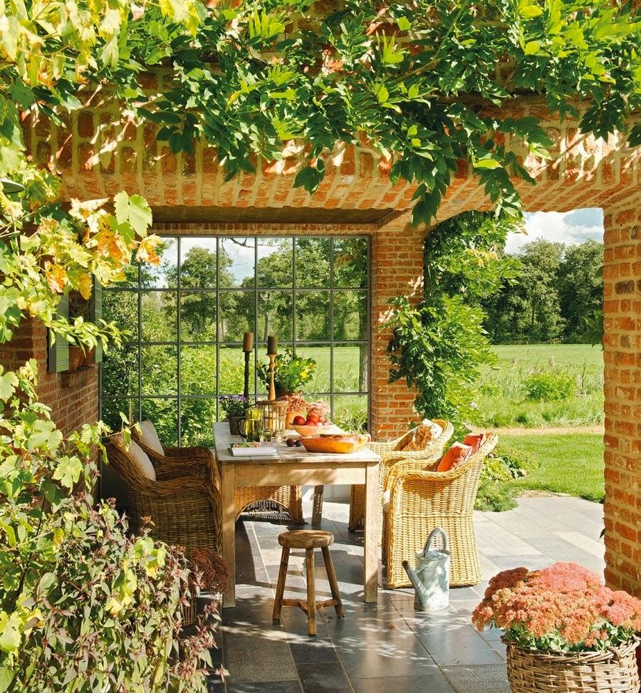 domek na wsi, wnętrza, dom, wystrój wnętrz, styl wiejski, styl rustykalny, weranda