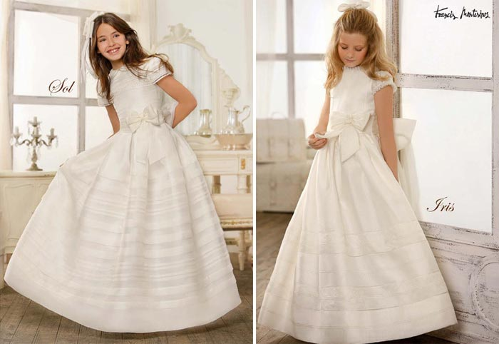 Vestido comunion devota y lomba