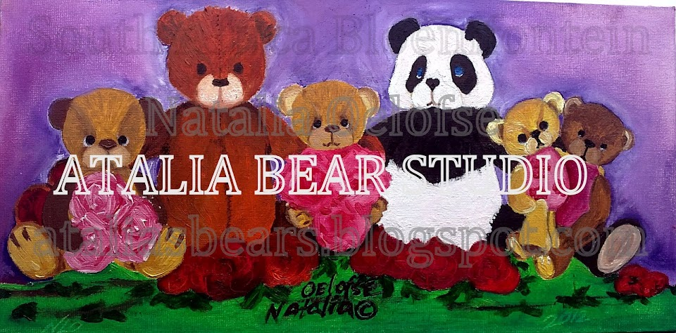 ATALIA STUDIO -  Teddy bears and creative crafts by Natalia Oelofse