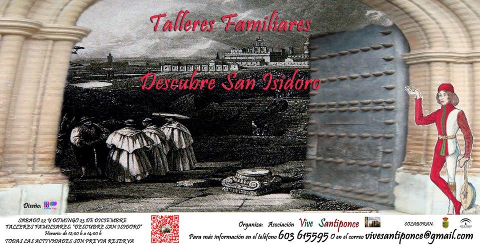 Cartel anunciador del evento en E.M. San Isidoro del Campo (Santiponce)