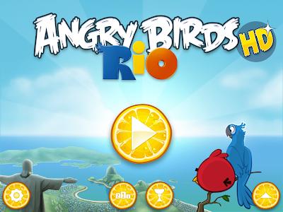 Angry Bird Rio Game