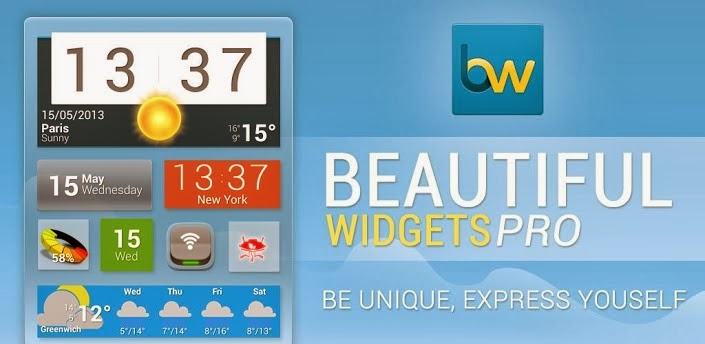 [Widgets] Beautiful Widgets Pro APK v5.5.4 FULL