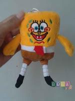 Gantungan Kunci Boneka Spongebob