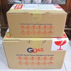 GDEX CHARGERS - KOTAK KECIL RM15, KOTAK BESAR RM25