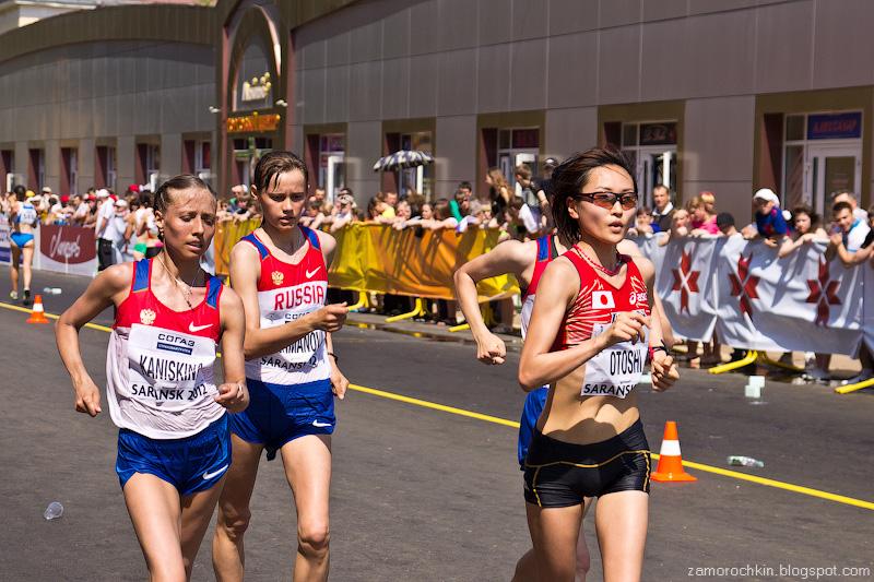 Женщины 20 км Кубок Мира по Спортивной ходьбе Саранск 2012 | Women's 20 km IIAF World Race Walking Cup Sararnsk 2012