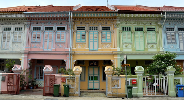 Joo Chiat Heritage Town in Singapore