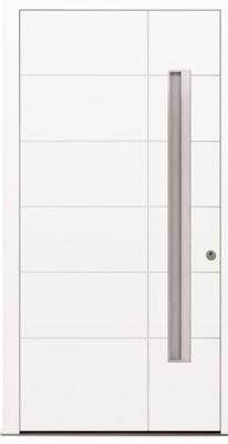 Białe drzwi HT410 - minimalistyczne