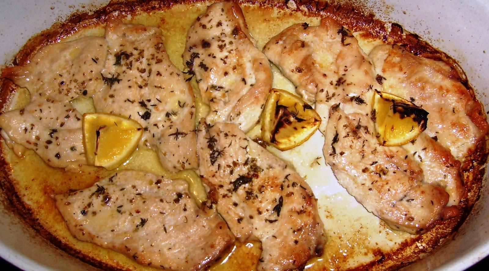 Facil til pechuga de pollo al lim n - Pechugas de pollo al limon ...