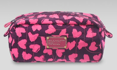 Marc Jacobs Pretty Nylon Cosmetic Bag Its so pretty I have to search for