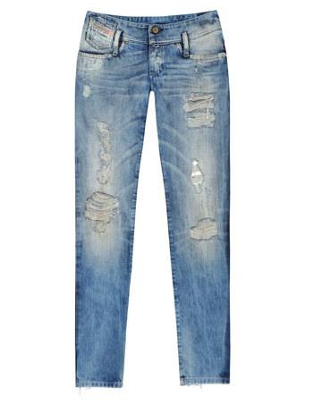 Jeans Gastados