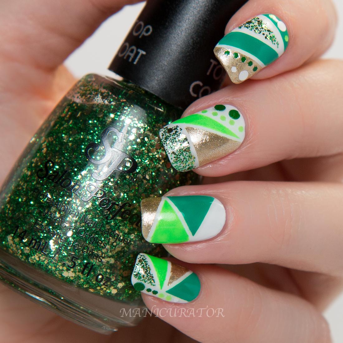 Salon Perfect St. Patrick\'s Day Nail Polish GIVEAWAY and Nail Art ...