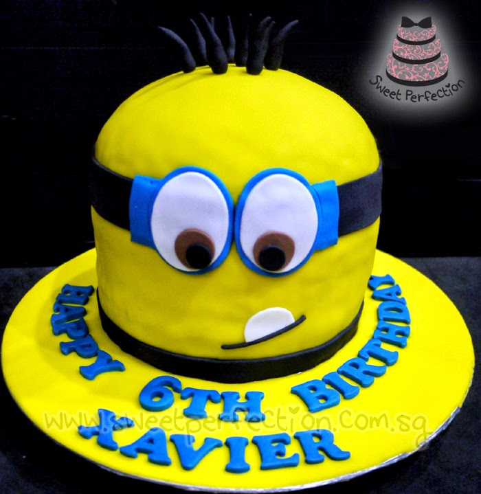 ... Perfection Cakes Gallery: Code Minions02 - Happy 6th Birthday Xavier