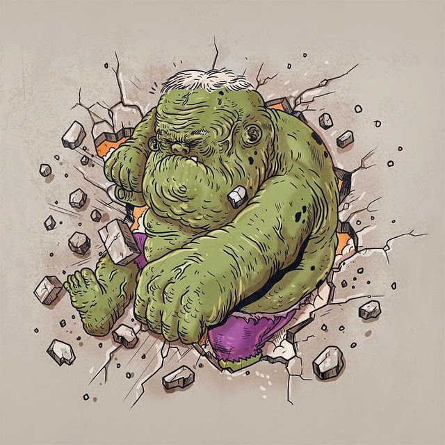 Hulk - Famous Oldies por Alex Solis