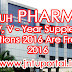 PHARM-D I, II, III, IV, V - YEAR SUPPLEMENTARY EXAMINATIONS-2016 Are From 01-02-2016 Notification And Timetable