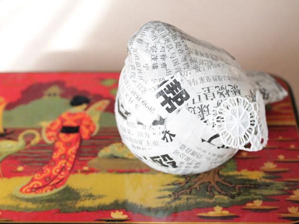 DIY Birds & China