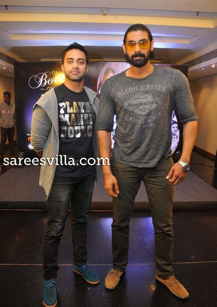 Rana and Navdeep at South scope Calendar 2014 Launch