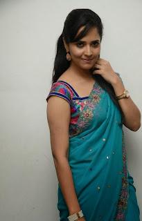 Telugu Anchor Anasuya Picture Gallery in Saree at Paddanandi Premalo Mari Movie Audio Launch  9