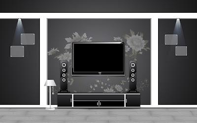 Dark Home Theater Furniture And Interior Arts Design