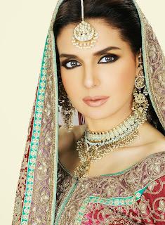 mahnoor baloch bridal makeup