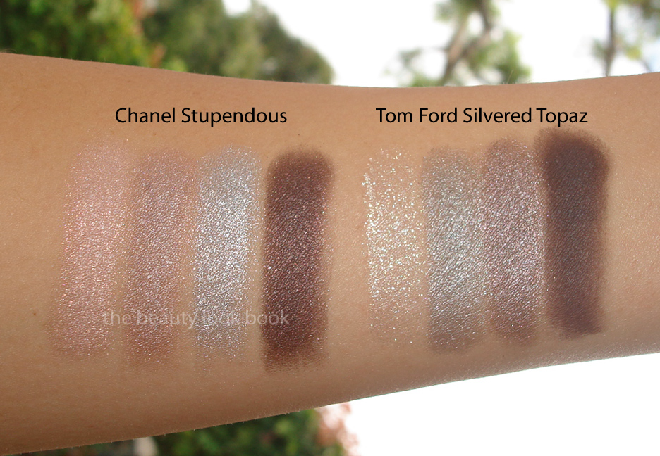 Chanel Stupendous Vs Tom Ford Silvered Topaz The Beauty