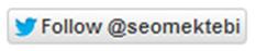 Blogger En İyi Twitter'da Takip ve Retweet Düğme