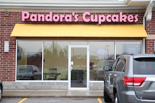 Storefront for Pandora's Cupcakes
