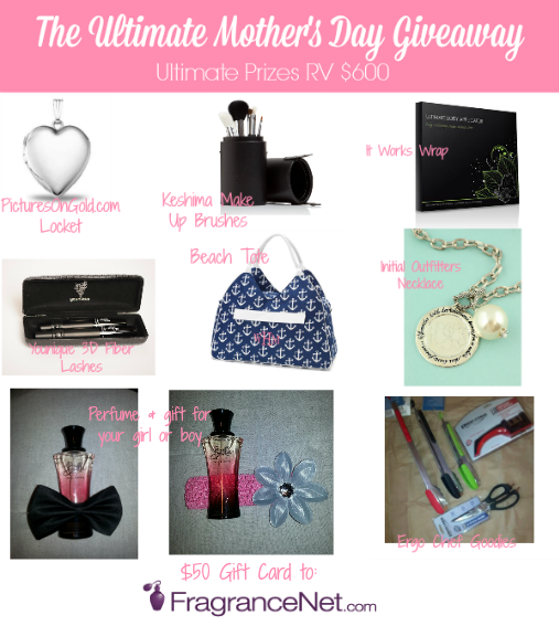 Ultimate Mother's Day Prize Pack Giveaway