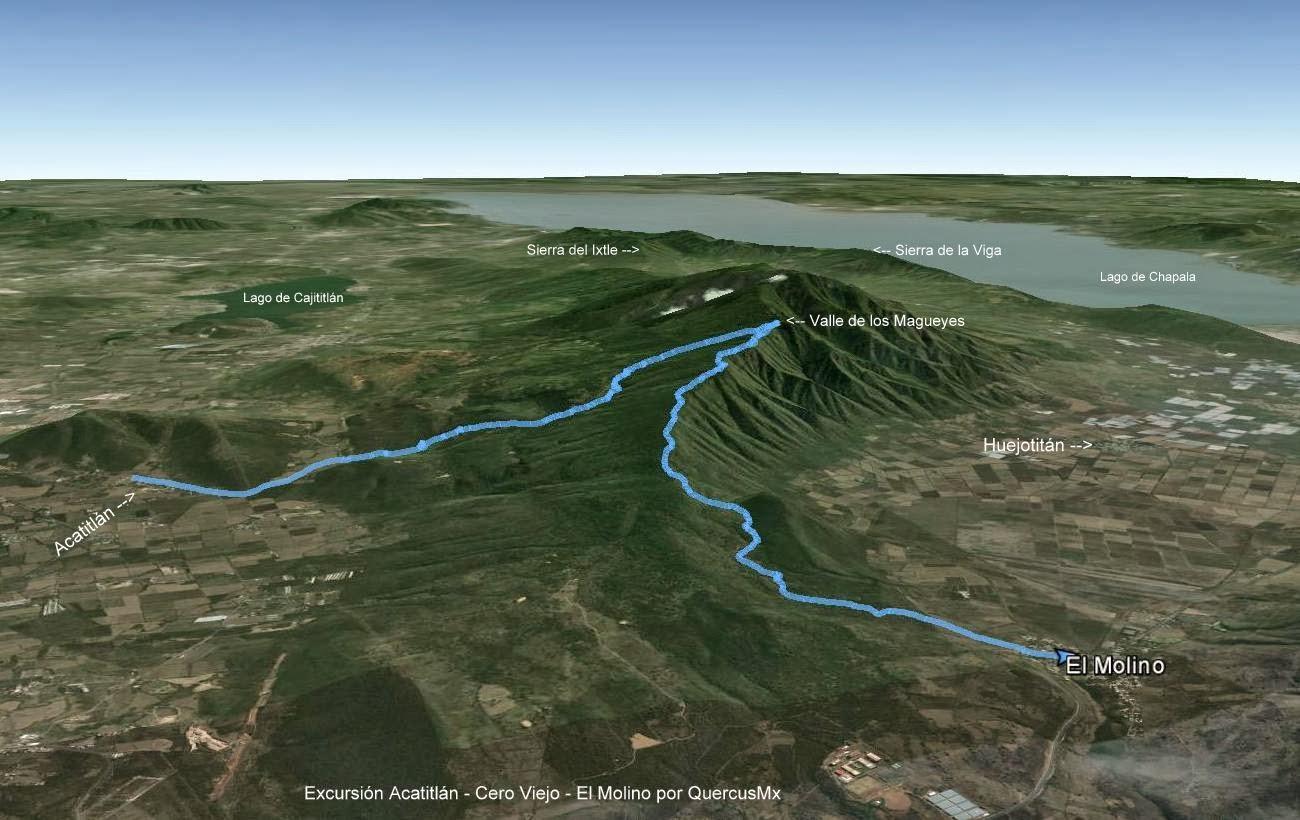Ruta Acatitlán -Cerro Viejo - El Molino