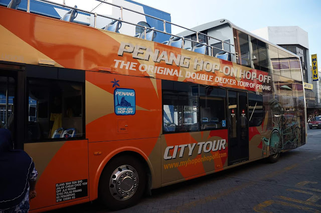 bas di penang dahulu dan sekarang, hop on hop off, HOHO, koleksi gambar bas di pulau pinang, nostalgia bas di pulau pinang,