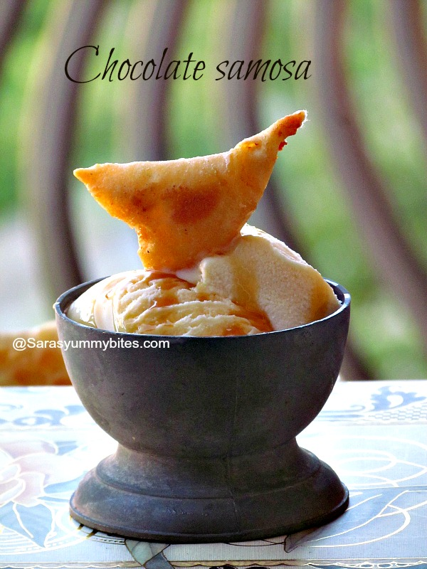 Dessert Samosa