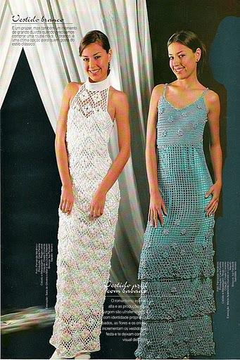 Vestidos tejidos con ganchillo - Imagui