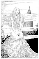 The Graveyard Book by Neil Gaiman - illustration of girl