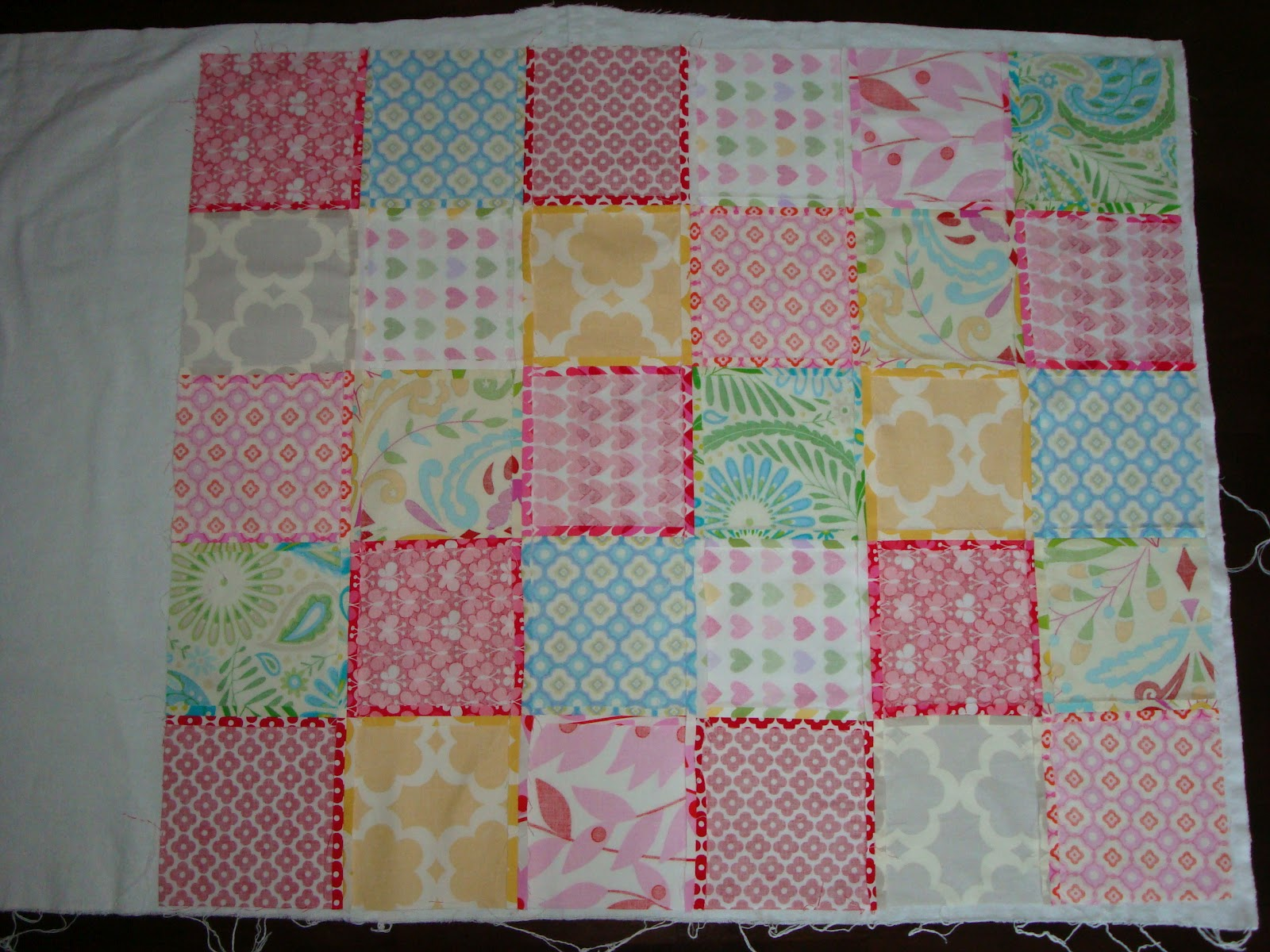 textile trolley how to make a patchwork baby blanket no On how to quilt patchwork