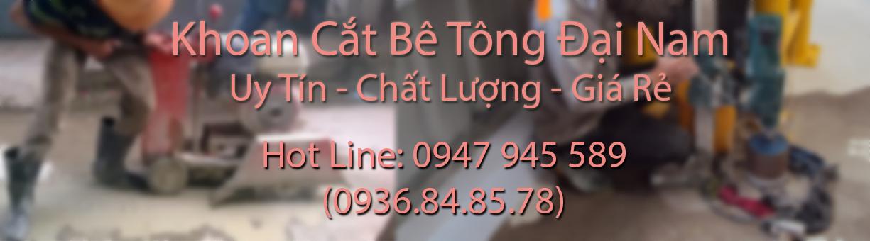 Khoan cắt bê tông Hà Nội giá rẻ nhất - Hotline: 0936.84.85.78